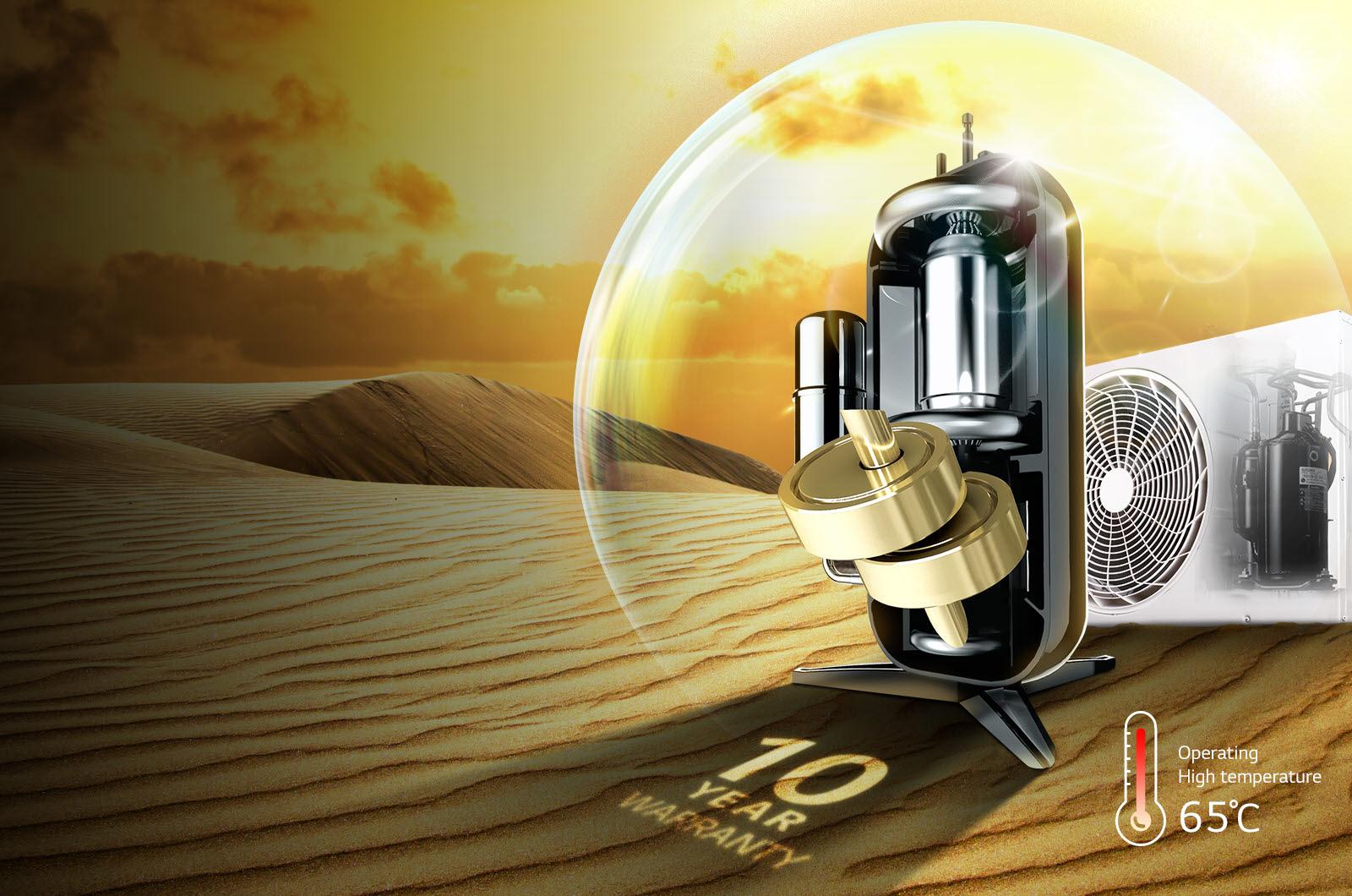 قیمت کولر گازی دوال اینورتر ال جی