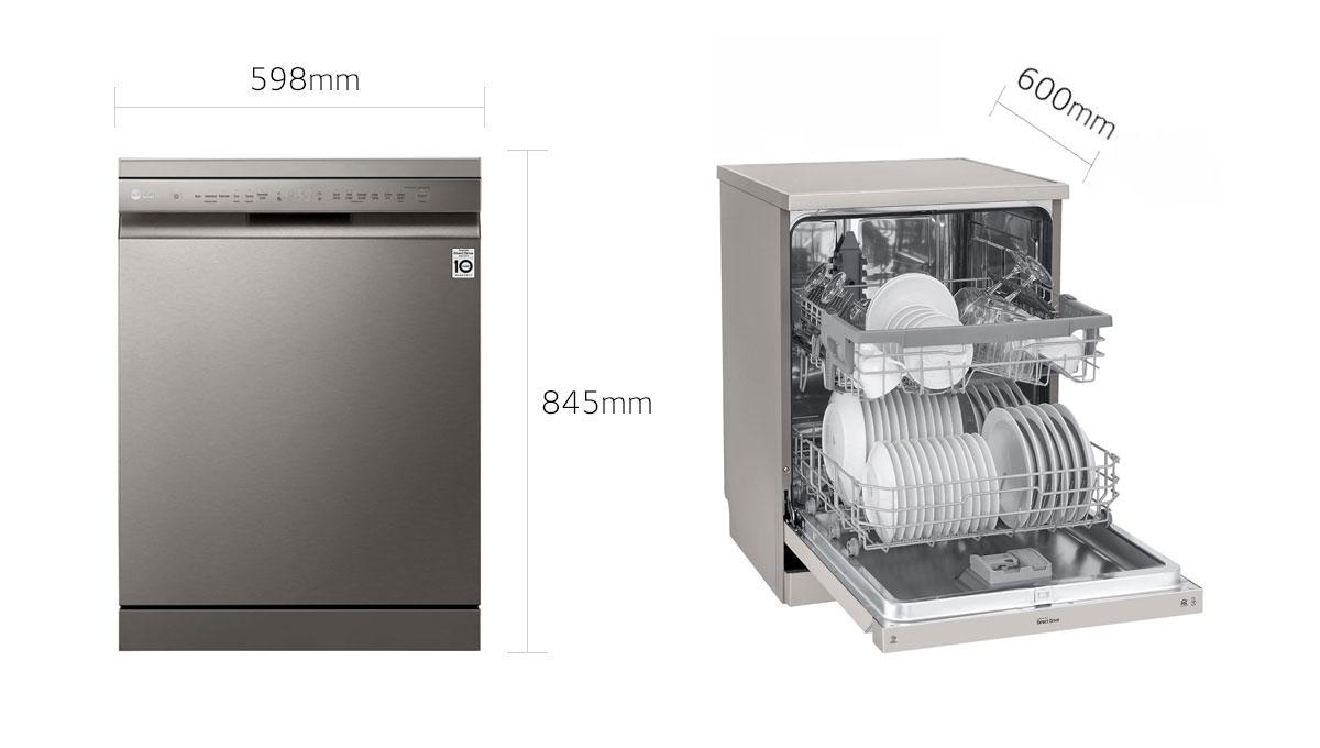 ظرفشویی 512 - ابعاد
