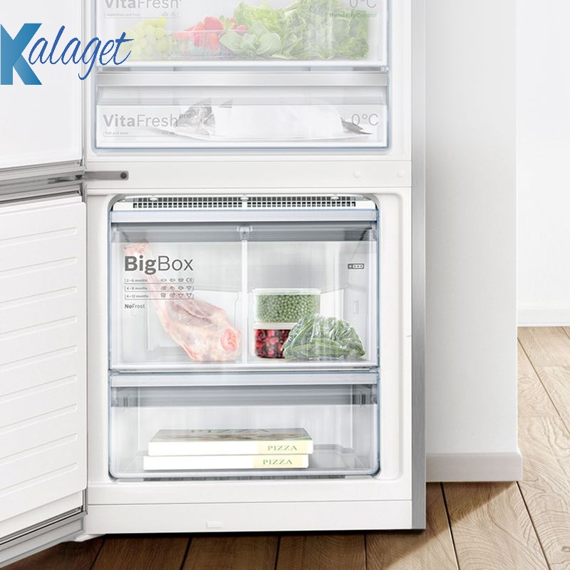 محافظت از غذاهای منجمد ، یخچال بوش kag90ai20