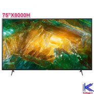 تلویزیون سونی فورکا 75X8000H