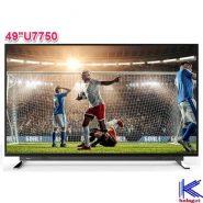 قیمت تلویزیون 49 اینچ 4K Smart توشیبا مدل 49U7750