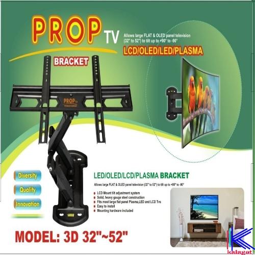 پایه دیواری تلویزیون 32 تا 52 اینچ